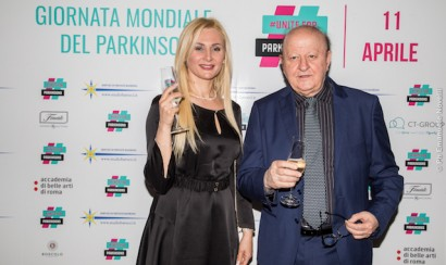 Unite for Parkinson's dinner in Rome