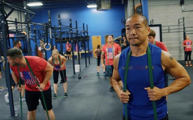 Jimmy Choi training