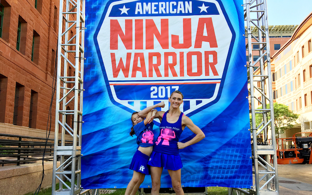 Allison competed on US tv show 'American Ninja Warrior'.