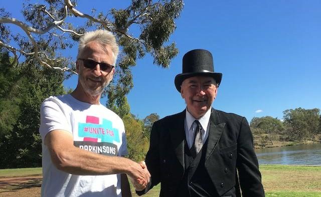 Steve Sant CEO Parkinson's Australia