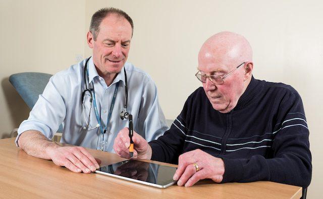 Parkinson's diagnosis pen