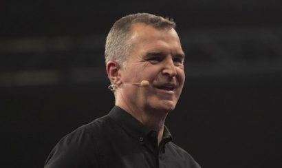 Sky Sports presenter Dave Clark