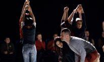 Parkinson's campaigner Massimiliano Iachini at a dance class