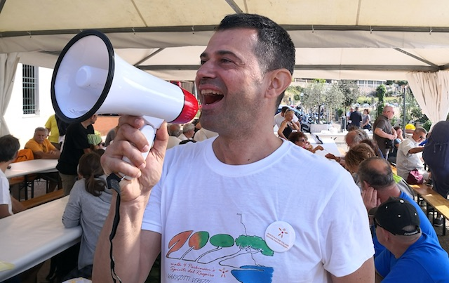 Parkinson's campaigner Massimiliano Iachini