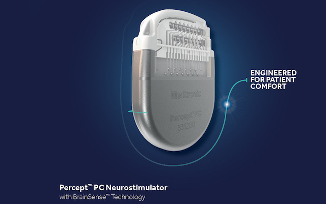Medtronic's Percept™ PC neurostimulator with BrainSense™ technology