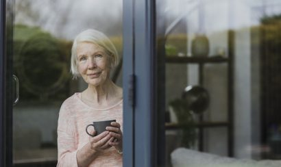 Senior Woman At Window