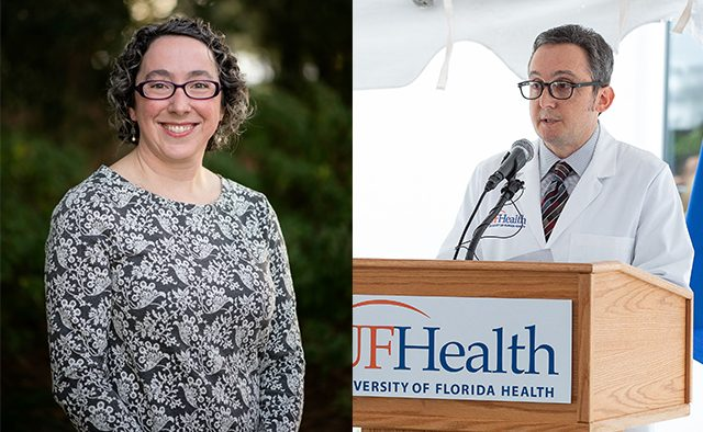 Dr. Michael J Okun en Dr. Melissa Armstrong