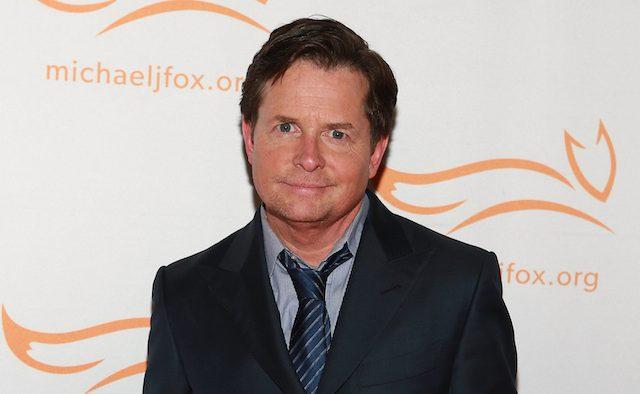Michael J Fox at an event.